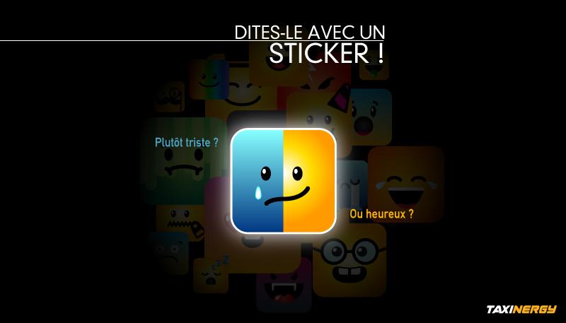 Article emojis emoticones stickers dans Taxinergy