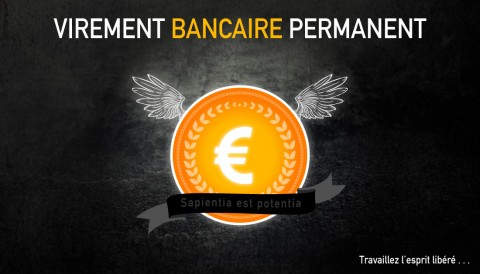 Nouveau mode de paiement : virement bancaire automatique